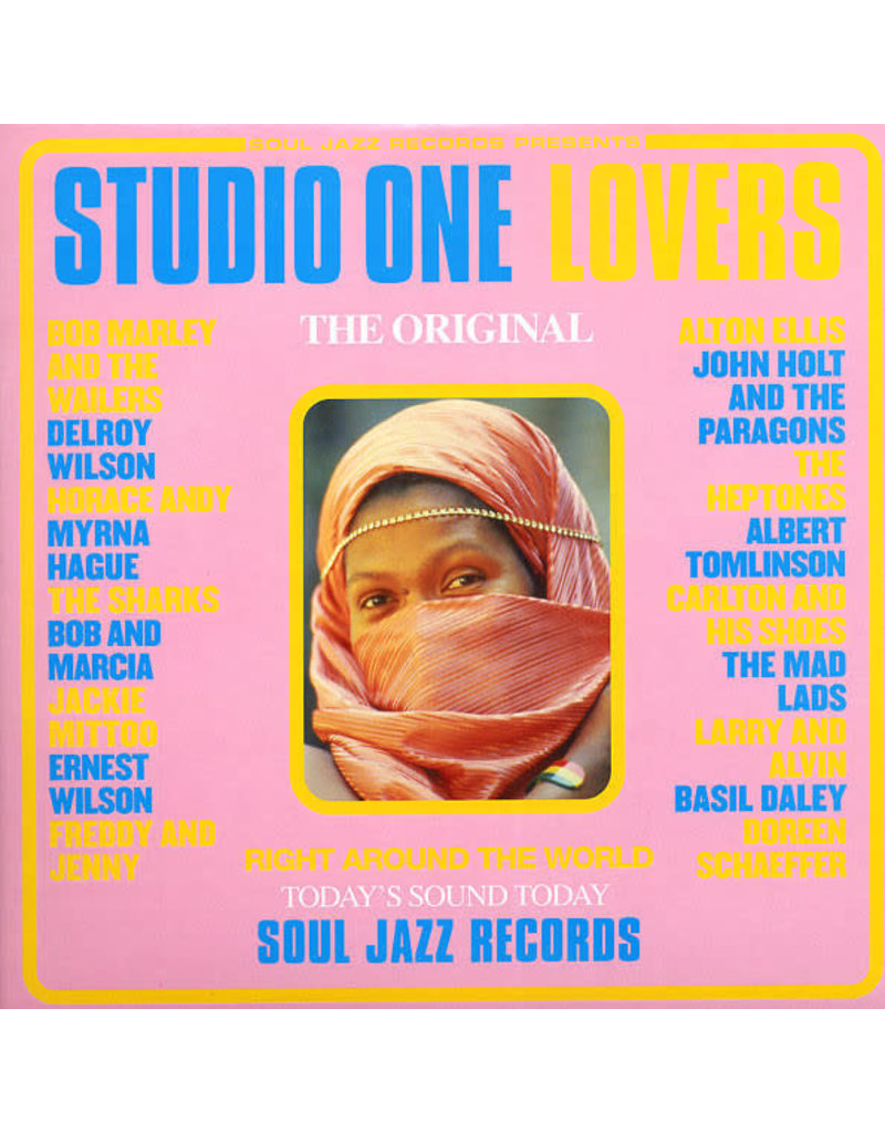 V/A - Studio One Lovers 2LP (2018 Compilation Reissue)