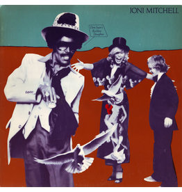 (VINTAGE) Joni Mitchell - Don Juan's Reckless Daughter 2LP [Cover:VG+,InnerSleeves:VG,Discs:VG+] (1977,Canada)