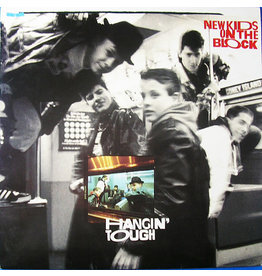 (VINTAGE) New Kids On The Block - Hangin' Tough LP [Cover:VG+,Disc:VG] (1988,Canada)