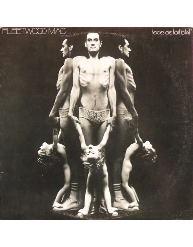(VINTAGE) Fleetwood Mac - Heroes Are Hard To Find LP [Cover:VG,Disc:VG+] (1974,Canada), Misspelled Spine