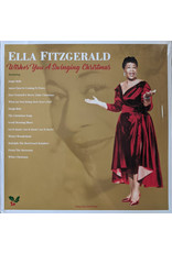 Ella Fitzgerald - Wishes You A Swinging Christmas LP (2021 Reissue), Gold vinyl. 180g
