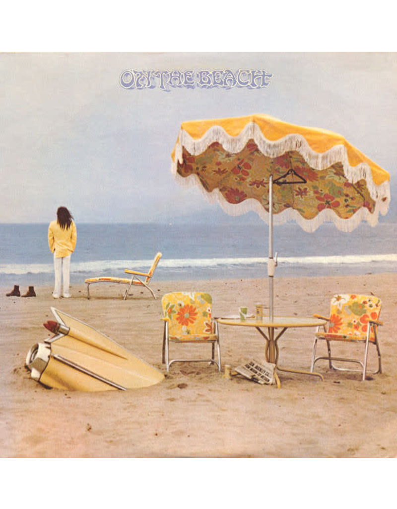 (VINTAGE) Neil Young - On The Beach LP [Cover:VG,Disc:VG] (1974,Canada)