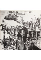 (VINTAGE) Black Uhuru - Showcase LP [Cover:VG,Disc:VG] (Unknown Year Taxi Repress, Jamica)