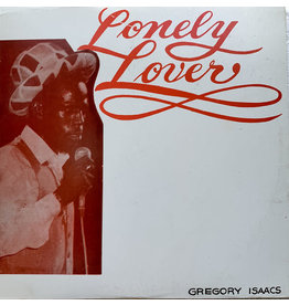 (VINTAGE) Gregory Isaacs - The Lonely Lover LP [Cover:NM,Disc:VG] (1980 African Museum, Jamica)