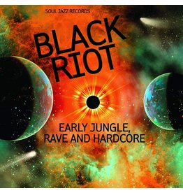 Various – Black Riot (Early Jungle, Rave And Hardcore) 2LP