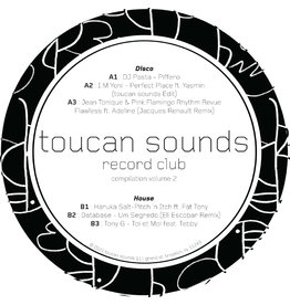 Various - Toucan Sounds Rec Club Vol. 2 LP (2021 Compilatioon)
