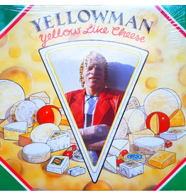 (VINTAGE) Yellowman - Yellow Like Cheese LP [SEALED, Corner Bended] (1987,Canada)