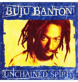 (VINTAGE) Buju Banton - Unchained Spirit LP [Cover:VG,Disc:VG] (1999,US)