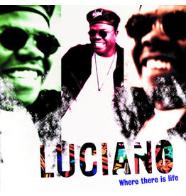 (VINTAGE) Luciano - Where There Is Life LP [Cover:VG,Disc:VG+] (1996, Jamaica)