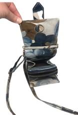 Vintage Decor Silver Rose - Mobile Wallet