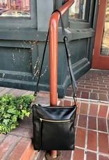 Kiko Leather Kiko - Black Pebble Crossbody - 745