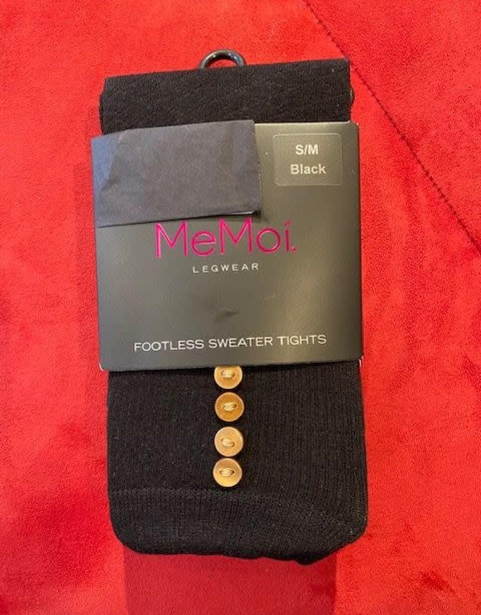 MeMoi - Button Sweater Tights