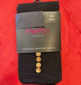 MeMoi - Button Sweater Tights