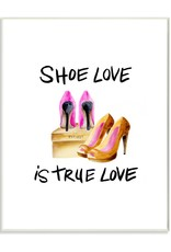 Stupell Industries Stupell Industries - Shoe Love Wall Art