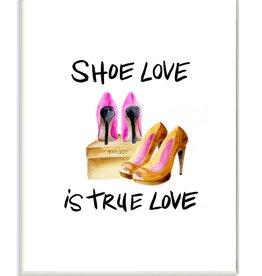 Stupell Industries Stupell Industries - Shoe Love Wall Art