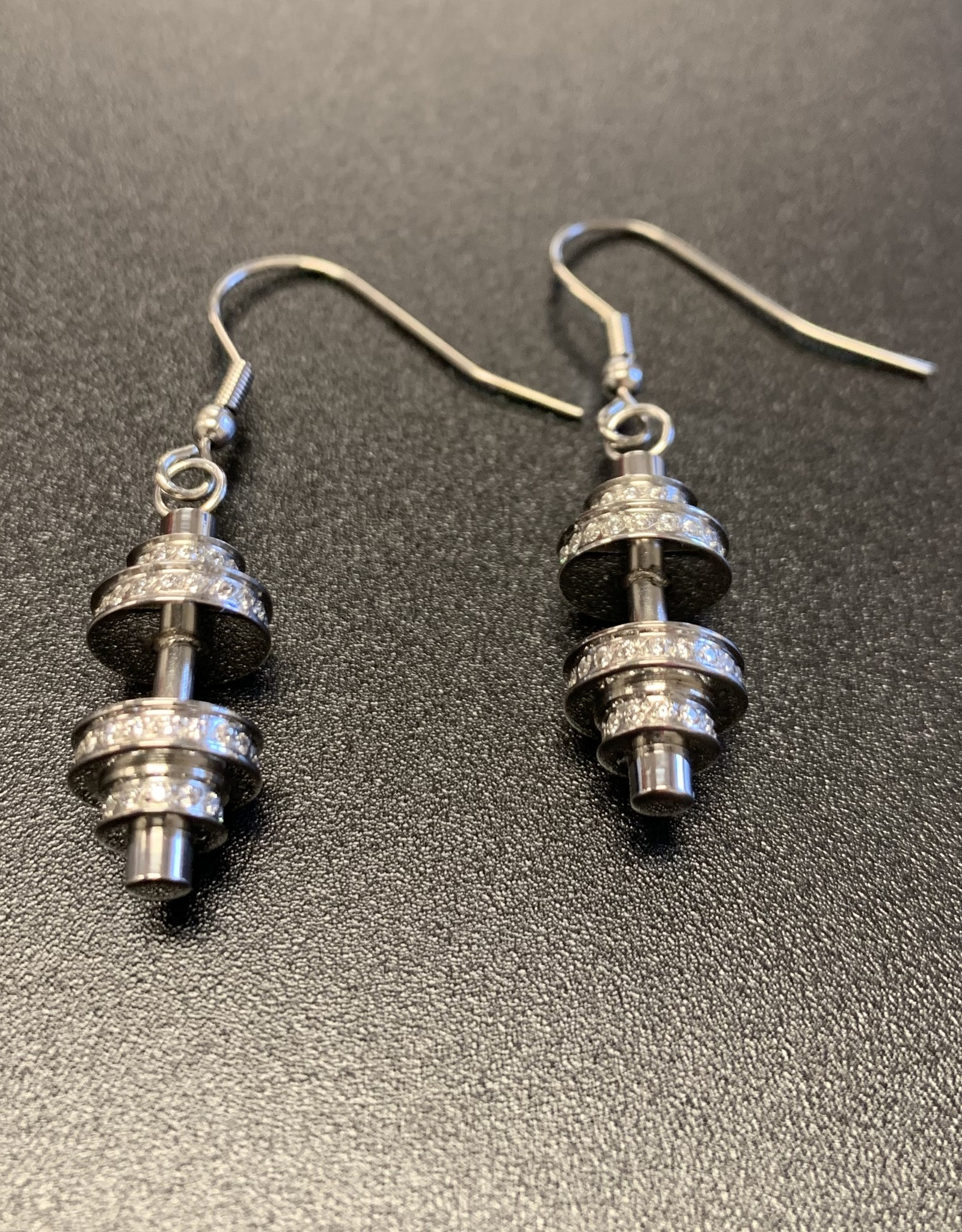 Marlary Jewelry Barbell Earrings