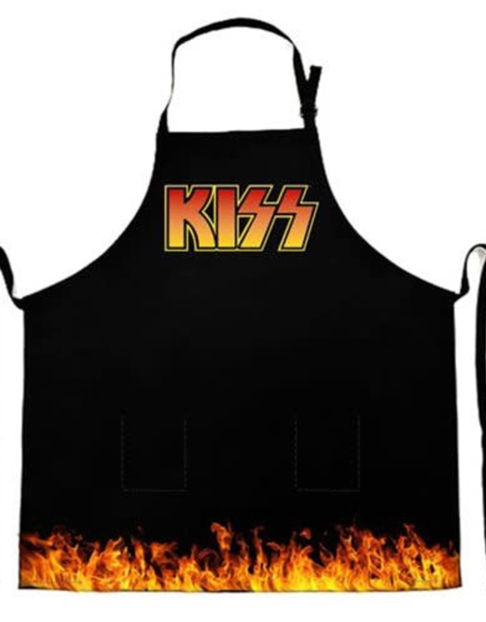 KISS Flames Apron