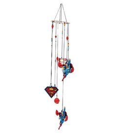 Pretty Strong Superman Figural Wind Chimes