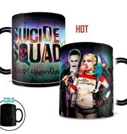 Suicide Squad Harley & Joker Morphing Mug