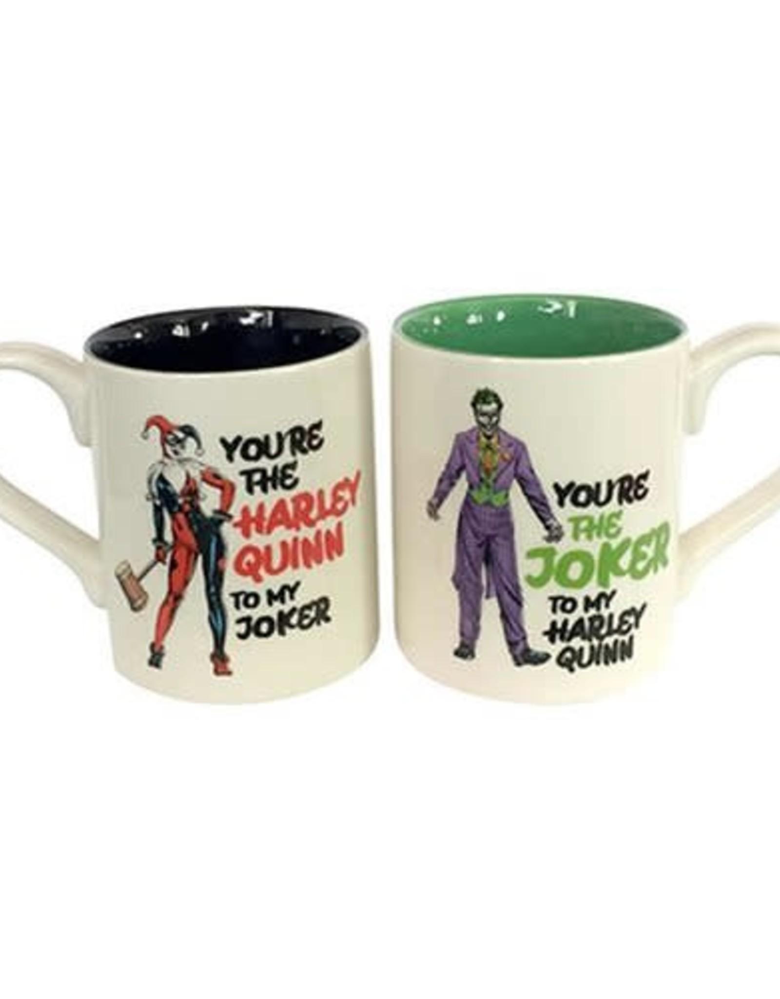 Pretty Strong Harley Quinn & Joker Mug Set
