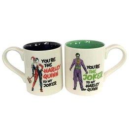 Harley Quinn & Joker Mug Set