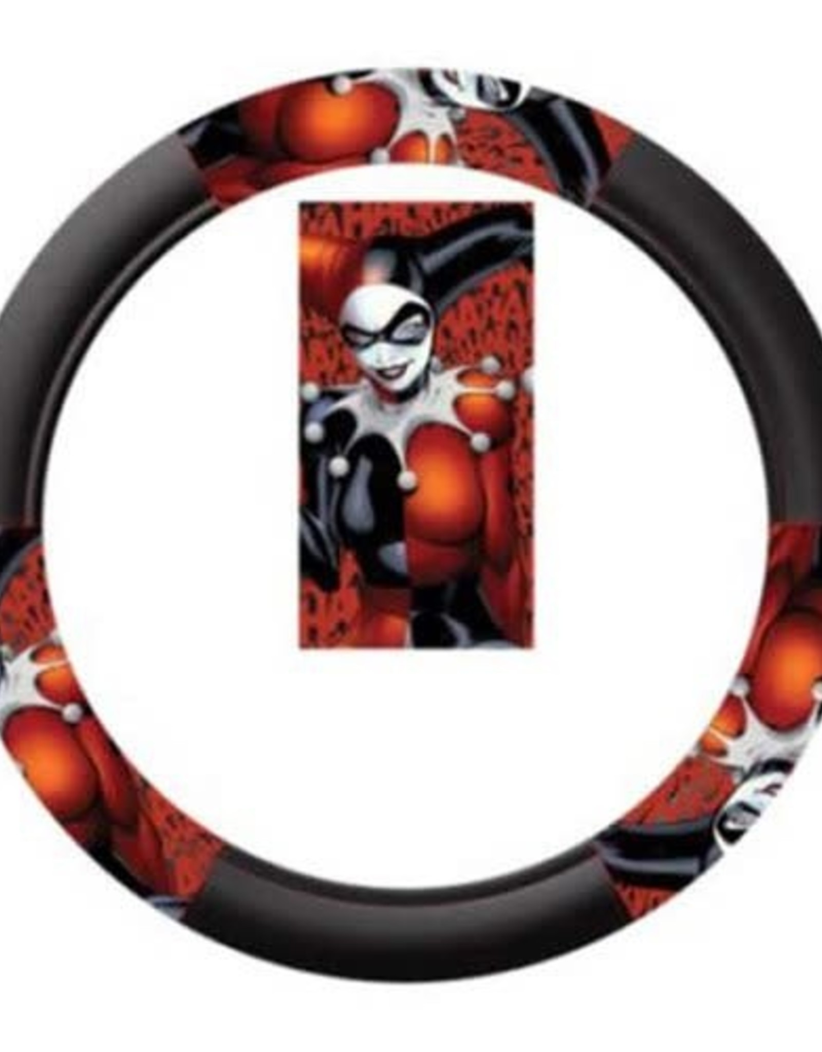 Pretty Strong Harley Quinn Steering Wheel Cover