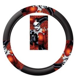 Harley Quinn Steering Wheel Cover