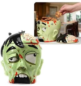 Pretty Strong Zombie Head Cookie Jar