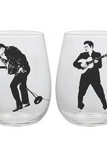 Elvis Dancing Glass Tumblers