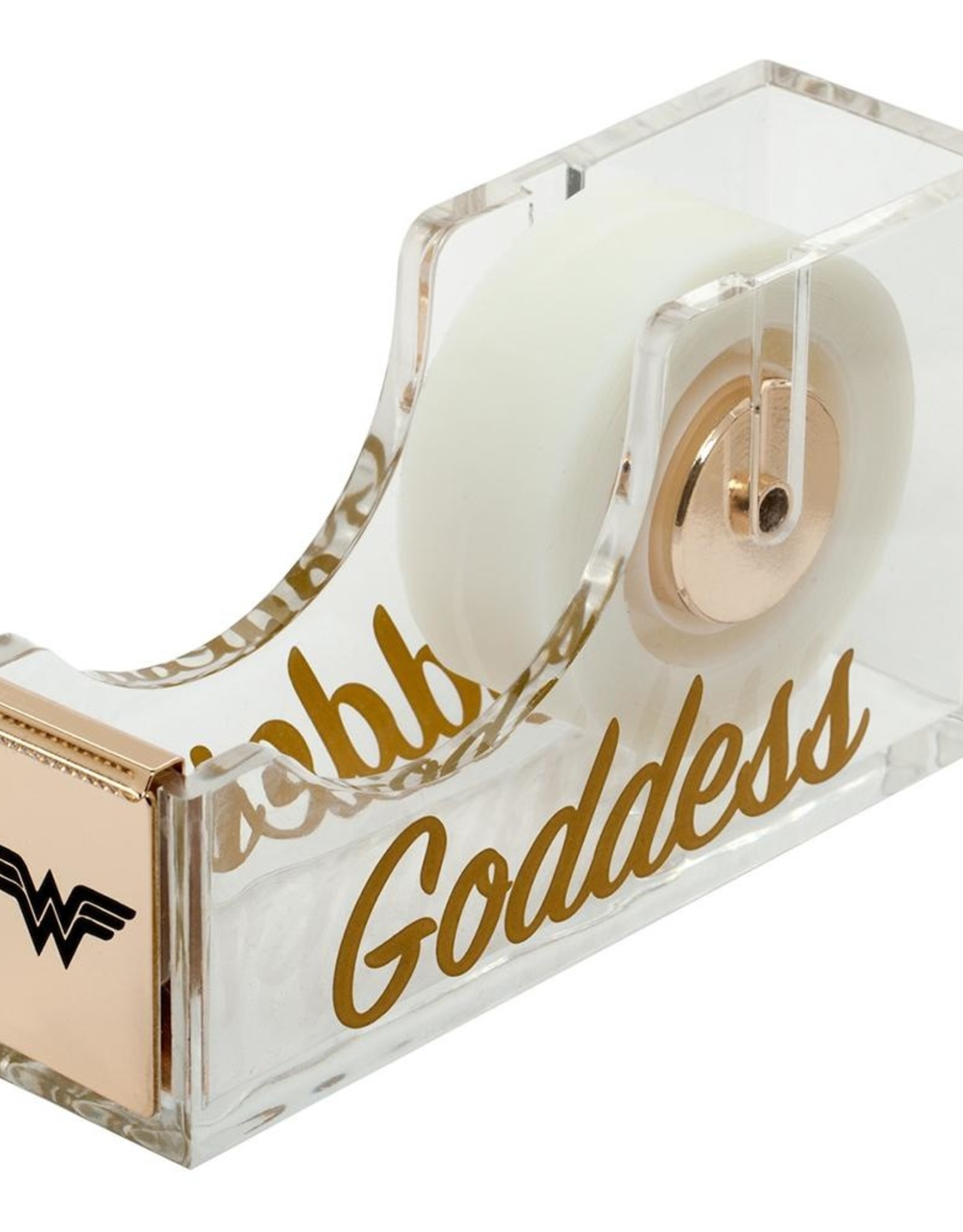 Pretty Strong Wonder Woman Acrylic Tape Dispenser