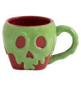 Poison Apple Sculpted Ceramic Mug