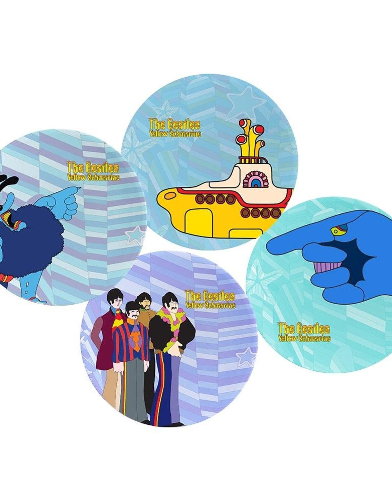 Pretty Strong Beatles Plate Set