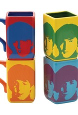 Pretty Strong Beatles Square Mug Set