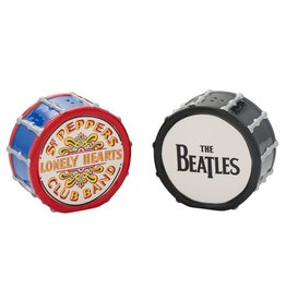 Pretty Strong Beatle's Drums Salt & Pepper Shakers