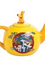 Pretty Strong Yellow Submarine Teapot