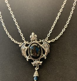 Pretty Strong Seraph of Darkness Necklace