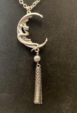 Naga Moon Pendant
