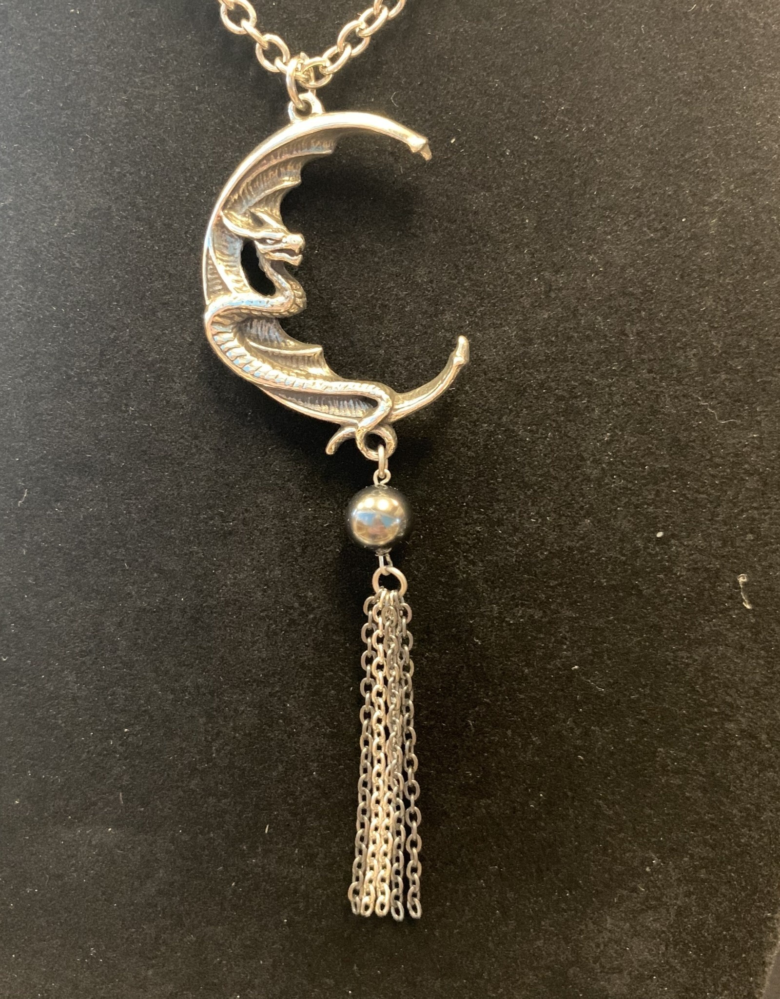 Pretty Strong Naga Moon Pendant