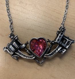 Painted Lady Necklace