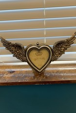 Pretty Strong Winged Up Heart Photo Frame