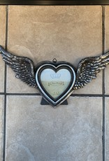 Pretty Strong Winged Up Heart Mirror