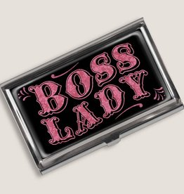 Boss Lady Business Card Holder
