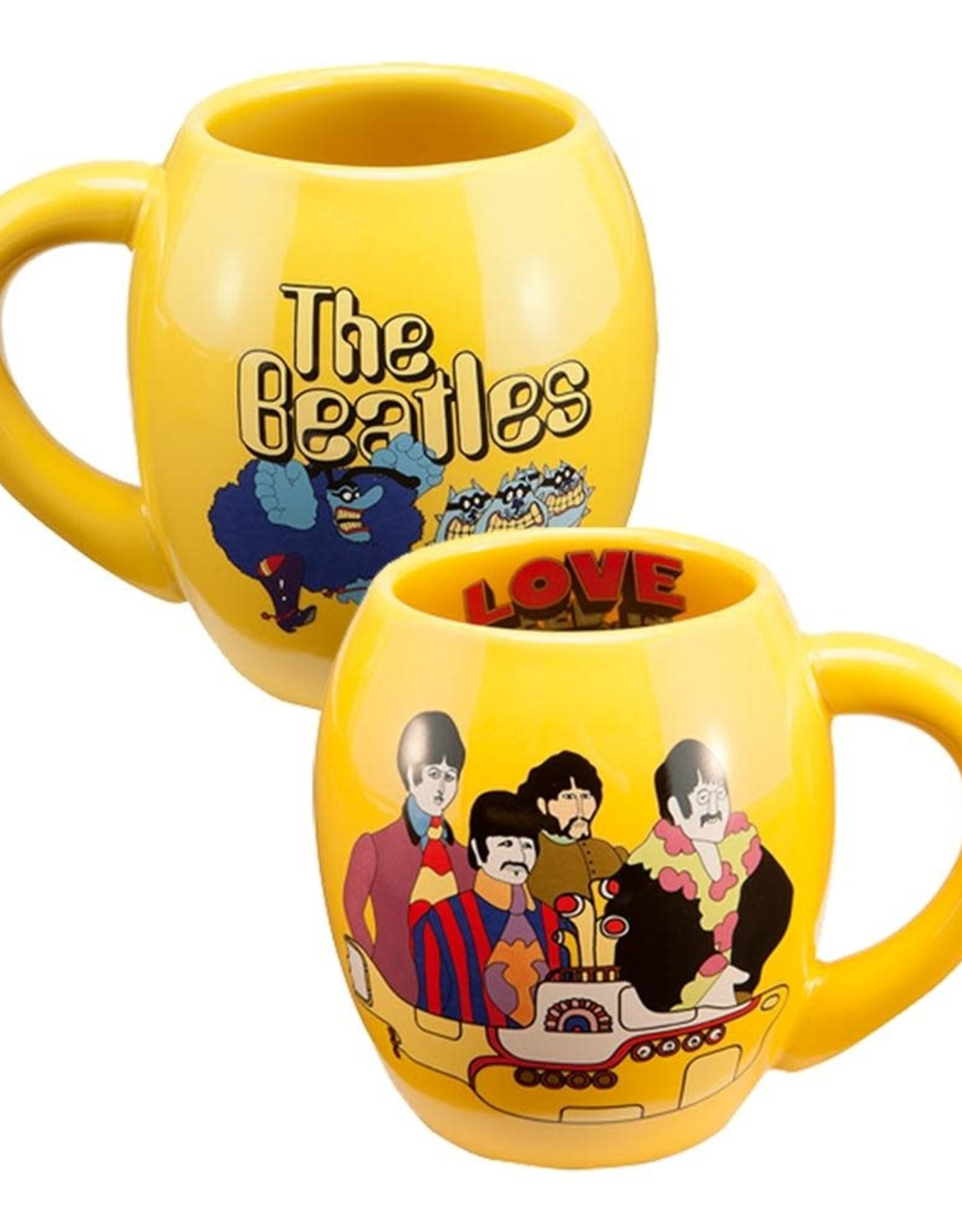 Pretty Strong Beatles Oval Mug