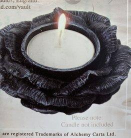 Black Rose Tealight Holder