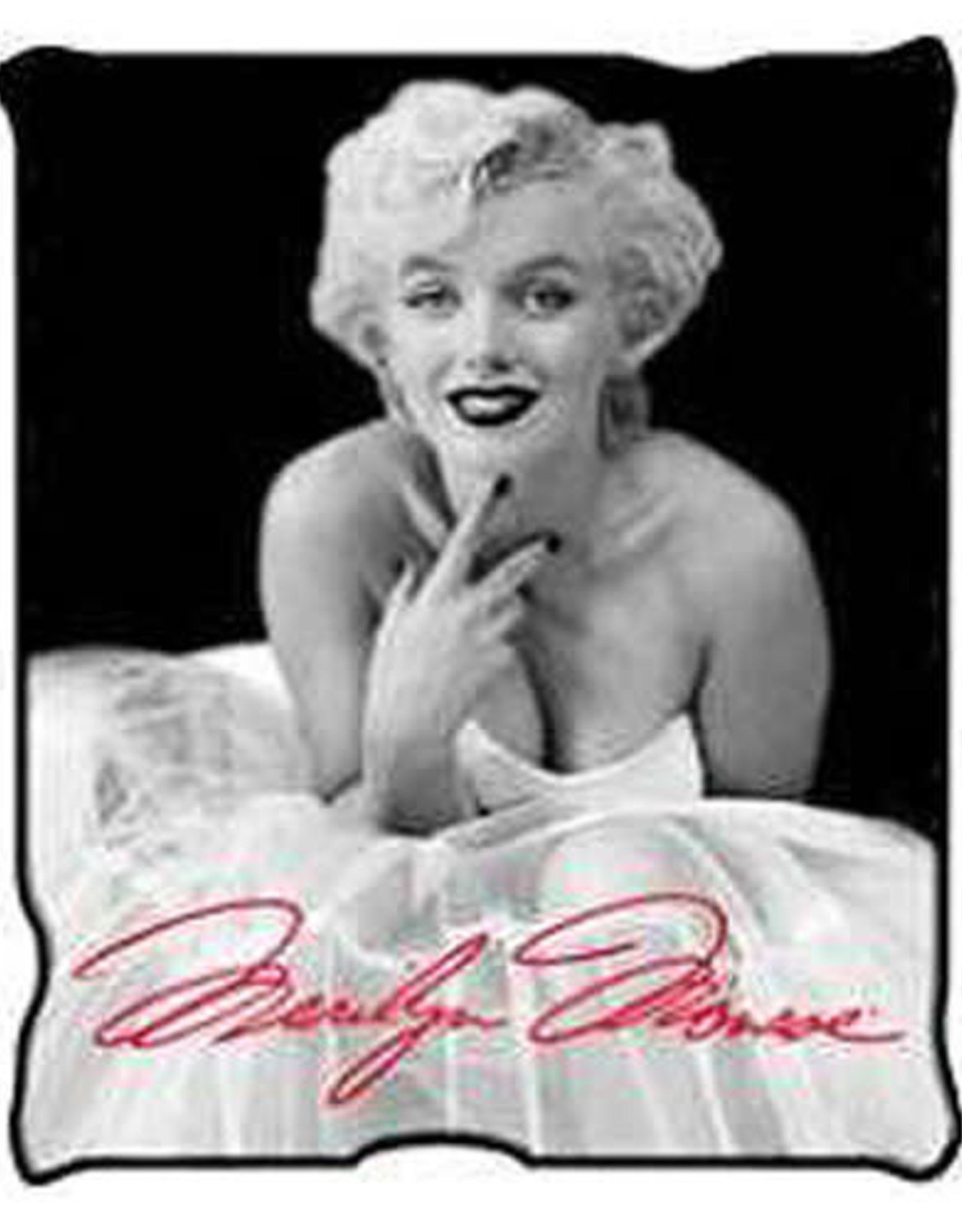 Pretty Strong Marilyn Monroe Blanket
