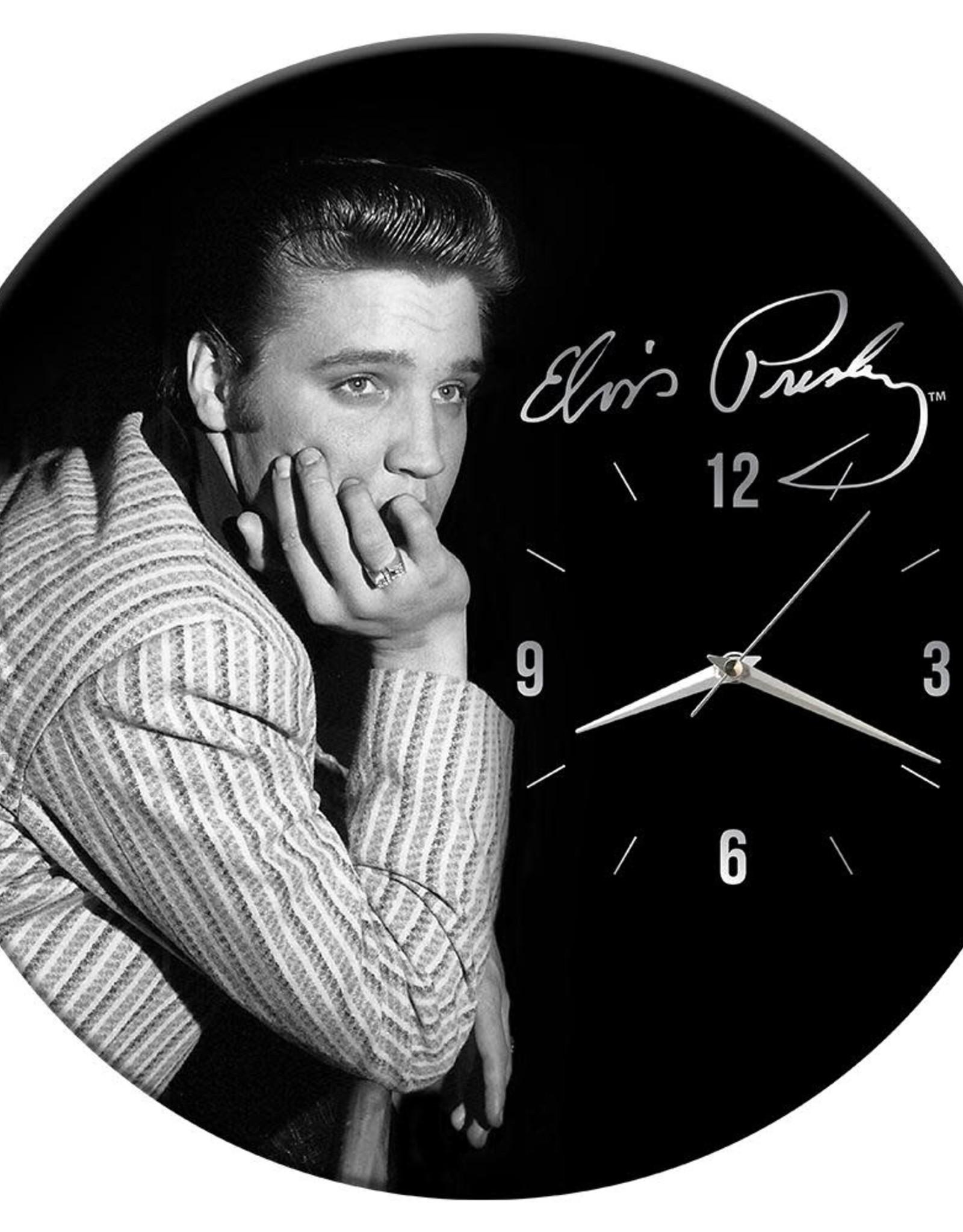 Pretty Strong Elvis Clock