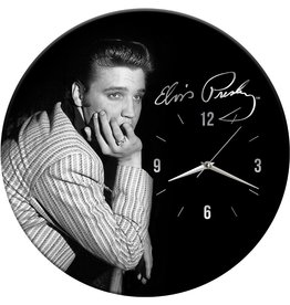 Pretty Strong Elvis Clock