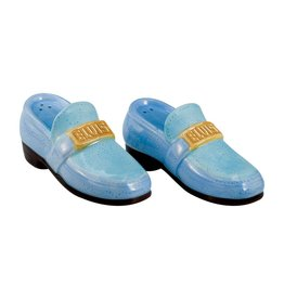 Pretty Strong Blue Suede Shoes Salt & Pepper