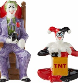 Pretty Strong Joker & Harley Salt & Pepper Shakers