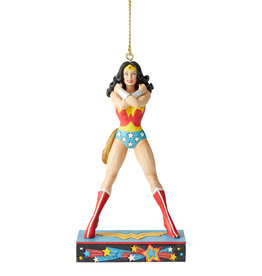 Pretty Strong Wonder Woman Christmas Ornament